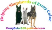 Helping Shepherds of Every Color GSD Rescue