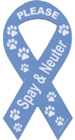 Please spay or neuter your pet to end the needless suffering caused by too many homeless pets.