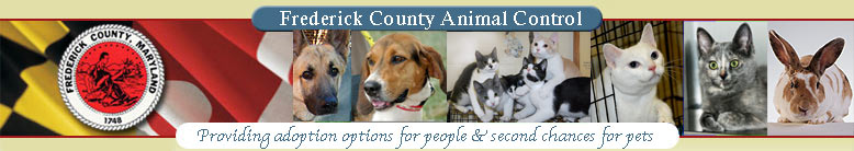 Frederick County Animal Control Maryland