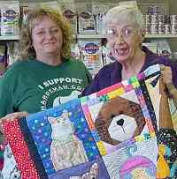 Rose Marie LaRue love her Pickin' Up The Pieces quilt!